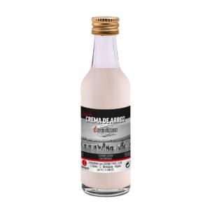 Botellas-Carmelitano-miniatura-crema-de-arroz